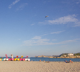 The Arenal sandy beach of Javea