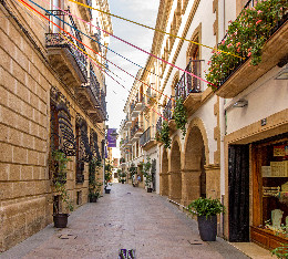 The old town of Javea