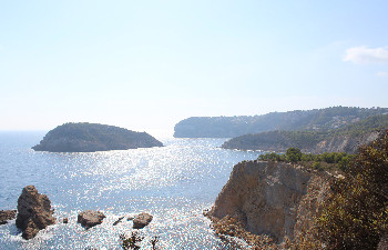 The coastline of Javea