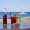 Tinto de verano in a chiringuito of Javea